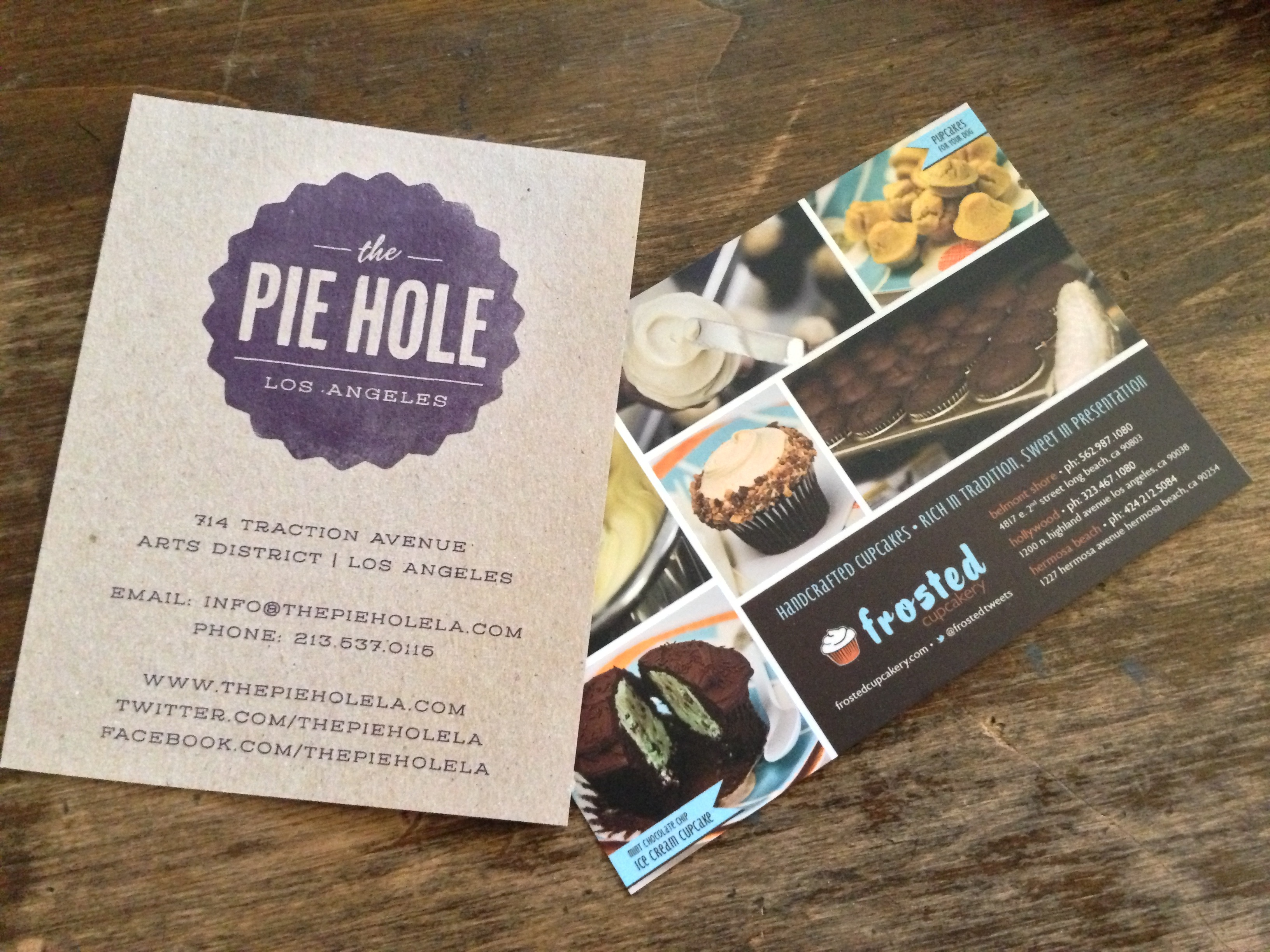 Pie Hole and Frosted