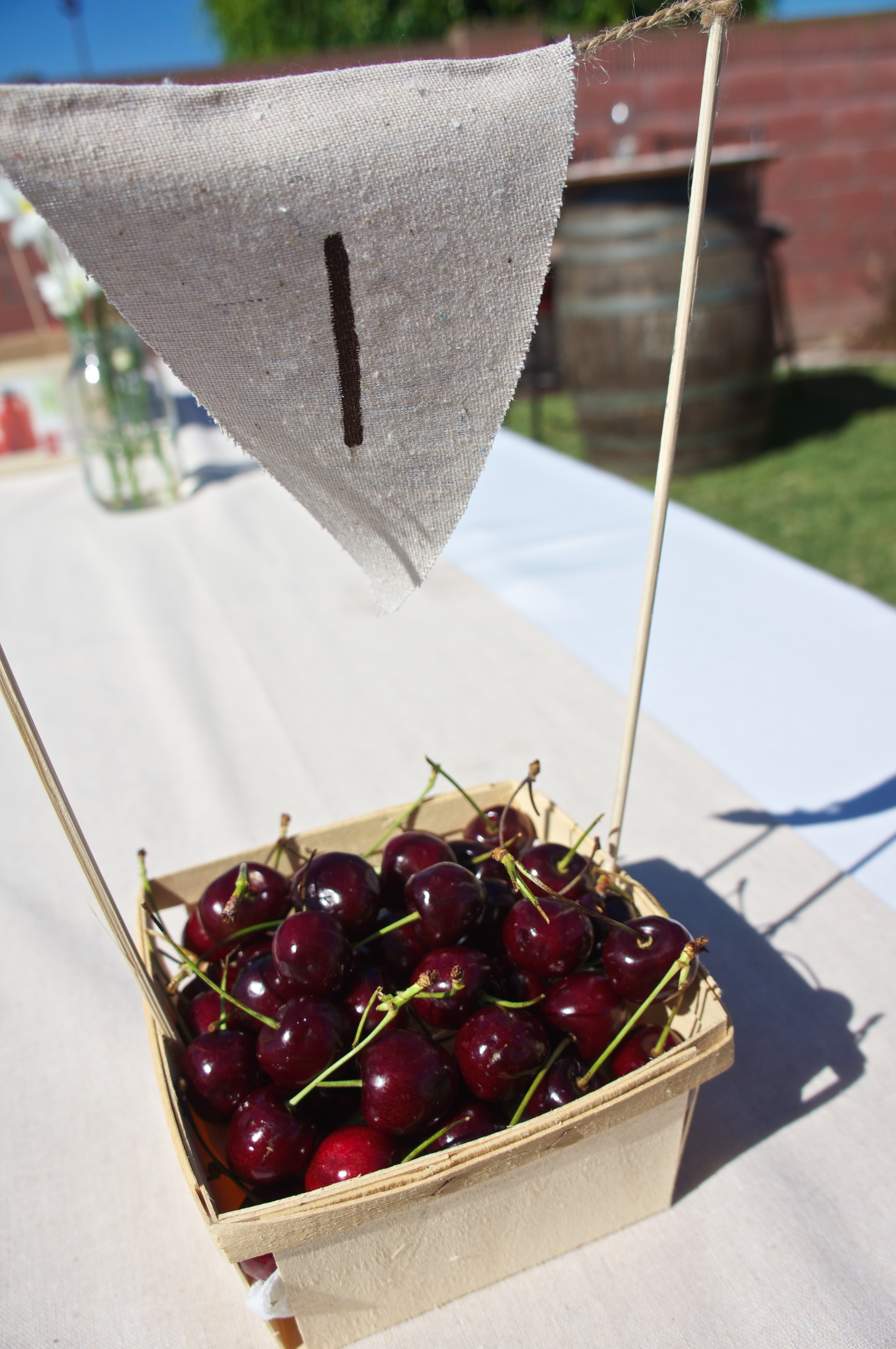 berry basket table number